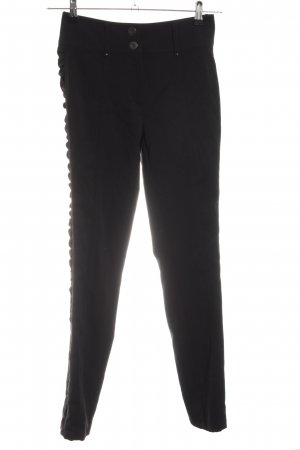 Kapalua Stretchhose schwarz Business-Look
