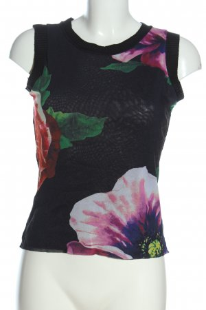 Kapalua Knitted Top allover print casual look