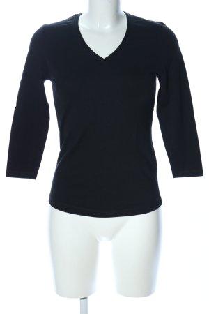 Kapalua V-Ausschnitt-Shirt schwarz Casual-Look
