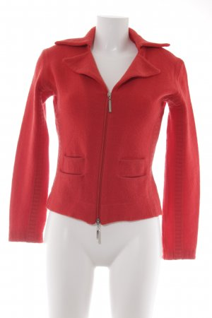 Kapalua Wolljacke rot Casual-Look