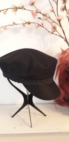 H&M Sombrero de tela negro