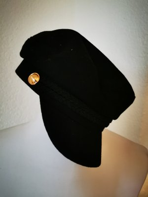 Zara Accesoires Visor Cap black-gold-colored