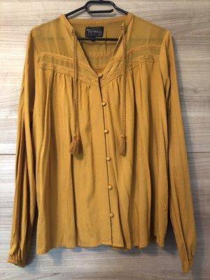 Kaporal Camicetta a maniche lunghe giallo-oro