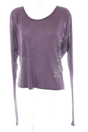 Kaporal Sweatshirt braunviolett Casual-Look