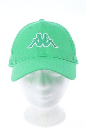 Kappa Baseballówka zielony W stylu casual