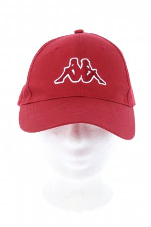 Kappa Baseballówka czerwony W stylu casual