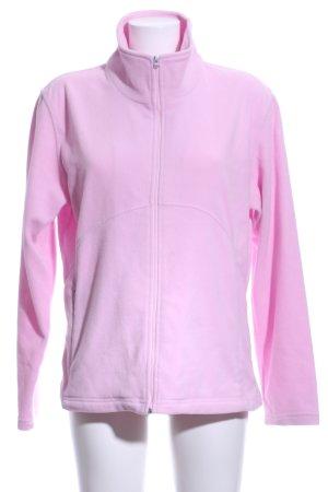 Kappa Fleecejacke pink Casual-Look
