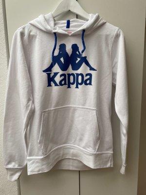 Kappa Sweatshirt met capuchon wit-staalblauw