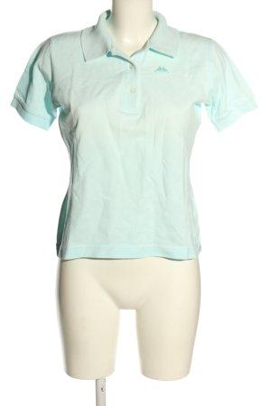 Kappa Koszulka polo turkusowy W stylu casual