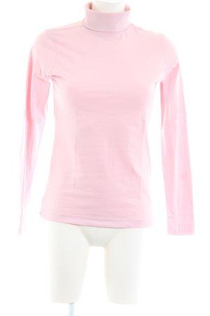 Kappa Rollkragenpullover pink Casual-Look