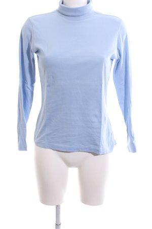 Kappa Rollkragenpullover blau Casual-Look