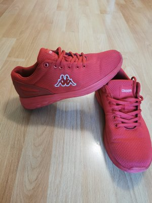 Kappa Lace-Up Sneaker red