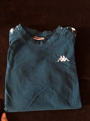 Kappa T-shirt petrolio