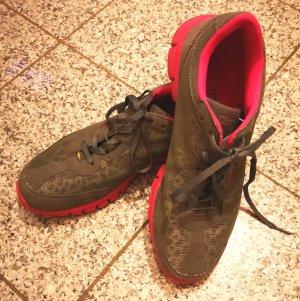 KAPPA Sneaker grau pink