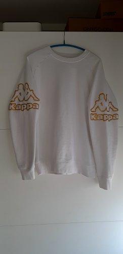 Kappa Felpa bianco-oro