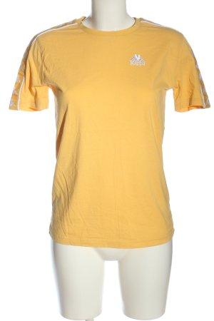 Kappa T-Shirt hellorange Casual-Look