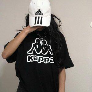 Kappa Camicia oversize nero-bianco