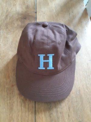H&M Gorra de béisbol marrón-azul