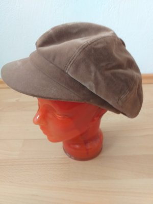 Visor Cap light brown-brown