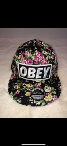 obey Berretto basco multicolore