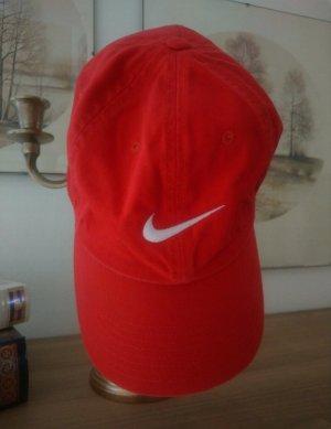 Nike Baseballówka czerwony