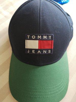 Tommy Hilfiger Gorra de béisbol azul-verde bosque