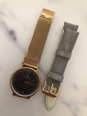 Kapten & Son Armbanduhr + Uhrenband