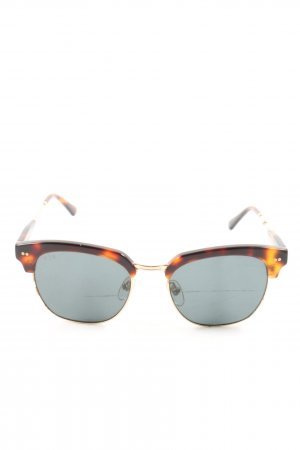 Kapten & Son Butterfly Brille abstraktes Muster Casual-Look