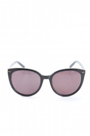 Kapten & Son Gafas mariposa negro-color oro look casual