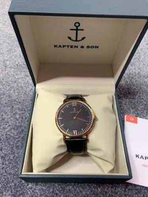 "Kapten & Son - Campina ""All Black"" - 36mm"