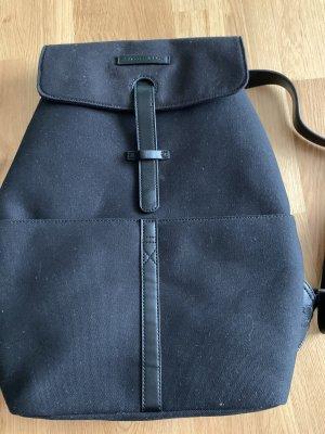 Kapten & Son Sac à dos pour ordinateur portable noir-rouge foncé