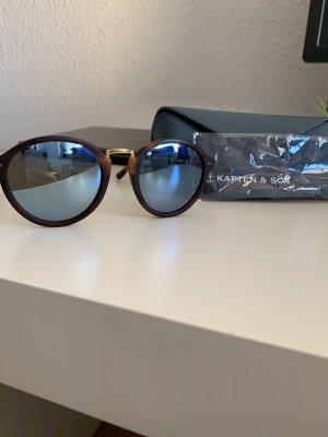 Kapten & Son Ronde zonnebril veelkleurig
