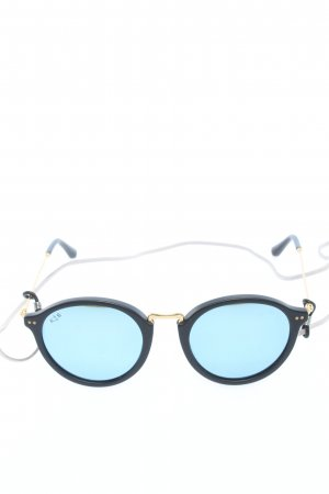 Kapten & Son Panto Glasses black-gold-colored casual look