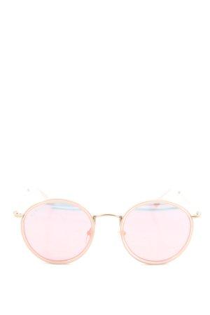 Kapten & Son runde Sonnenbrille pink Casual-Look