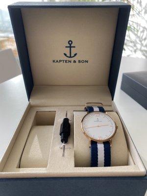 Kapten & Son Reloj analógico multicolor