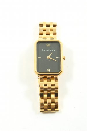 Kapten & Son Watch With Metal Strap gold-colored elegant