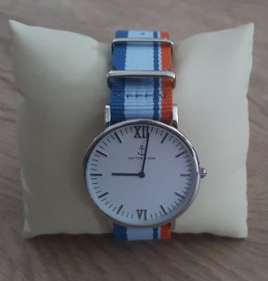 Kapten & Son Reloj analógico multicolor tejido mezclado