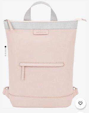 Kapten & Son Sac à dos pour ordinateur portable or rose-gris clair