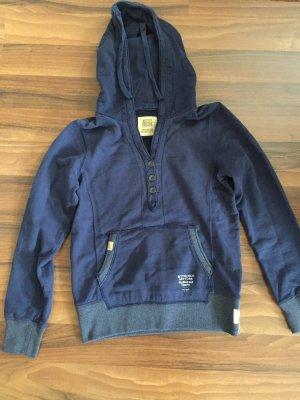 Better Rich Hooded Sweater steel blue