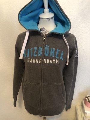 Kitzbühel Sport Pull à capuche gris-bleuet
