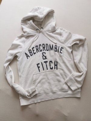 Abercrombie & Fitch Capuchon sweater wit