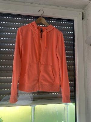 Colours of the World Kurtka z kapturem pomarańczowy neonowy
