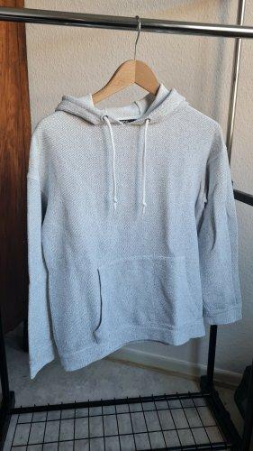 BDG Maglione con cappuccio grigio chiaro