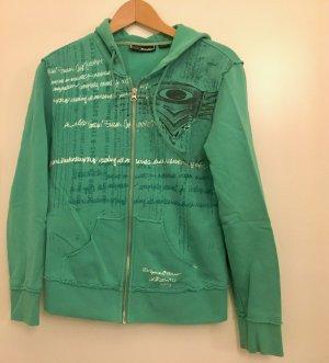 Oakley Sweatshirt met capuchon groen-donkergroen Katoen