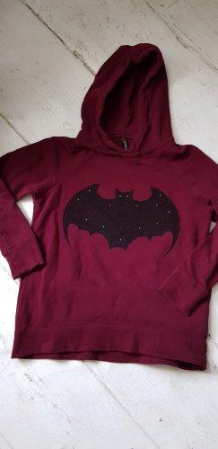 FB Sister Hooded Sweater black-purple