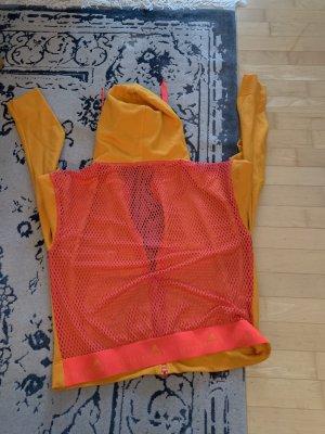 Adidas by Stella McCartney Sweatjack neonoranje-neonroos