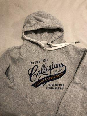 H&M Hooded Sweater light grey cotton