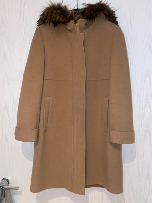 Basler Hooded Coat camel