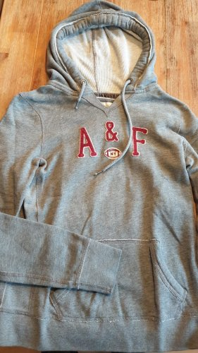 Abercrombie & Fitch Jersey con capucha gris
