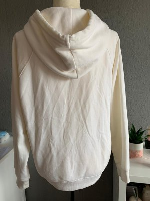 H&M Jersey con capucha blanco puro